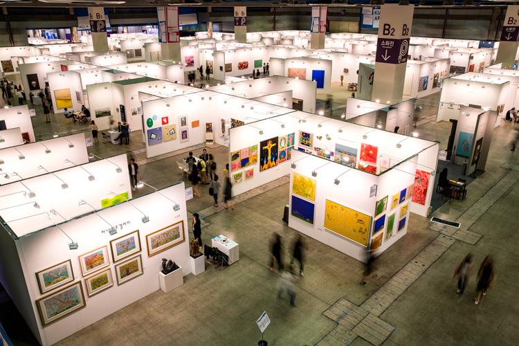 The 17th Korea International Art Fair in Seoul.