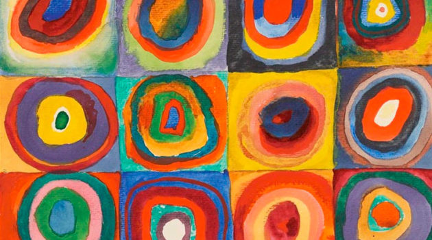 Squares with Concentric Circles (1913). Wassily Kandinsky