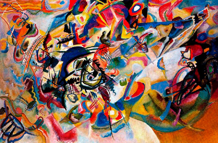 Composition VII (1913), Wassily Kandinsky
