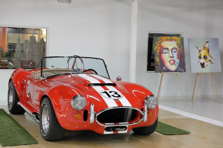 Shelby Cobra classic car