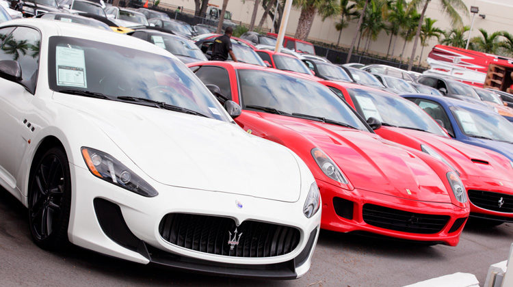 Classic supercars for sale