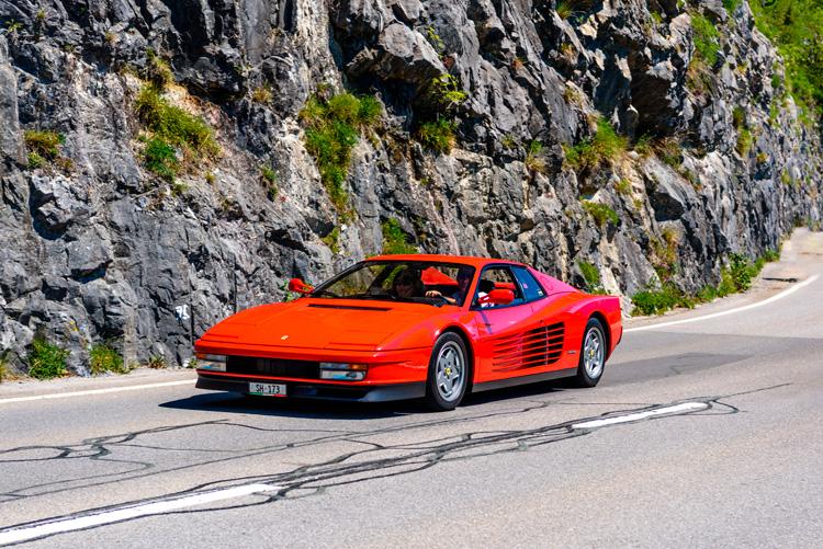 Ferrari Testarossa supercar