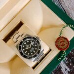 Rolex divers watch in branded packaging