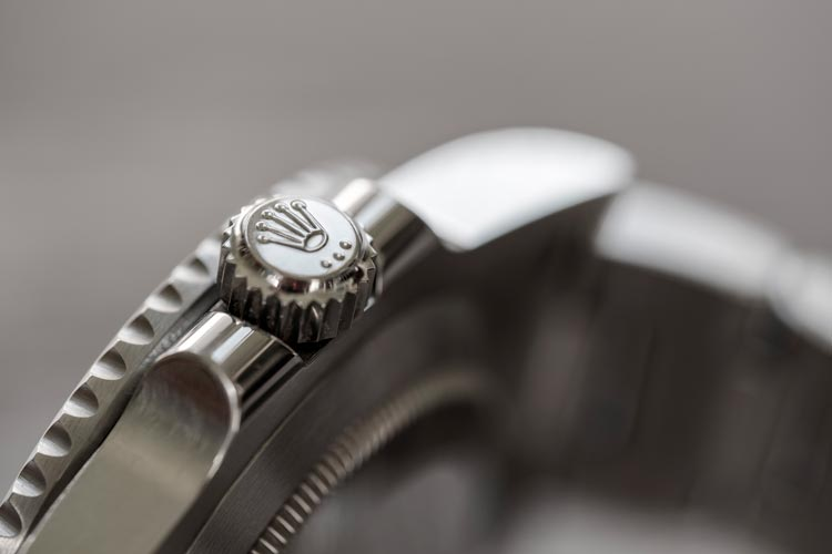 Rolex watch crown