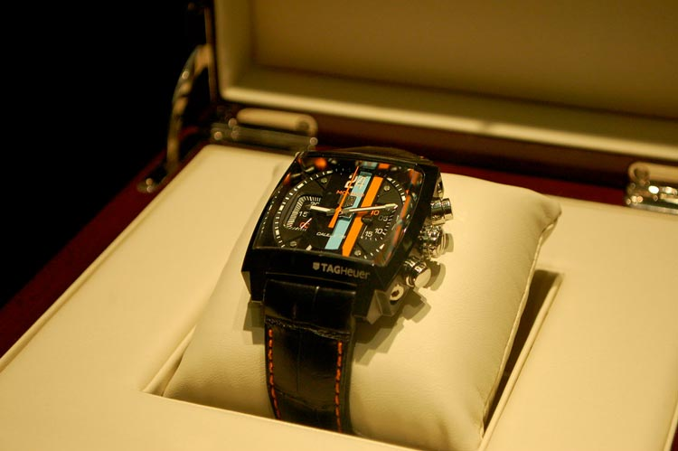 Tag Heuer Monaco classic watch