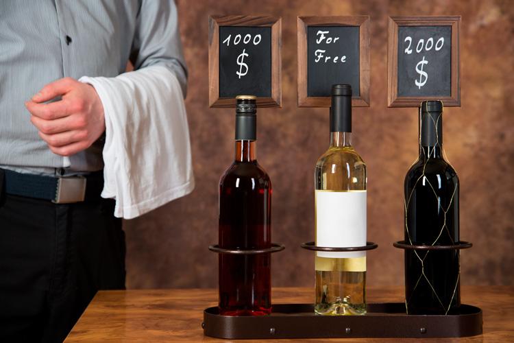 Cheap vs expensive wine