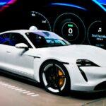 Porsche Taycan electric supercar